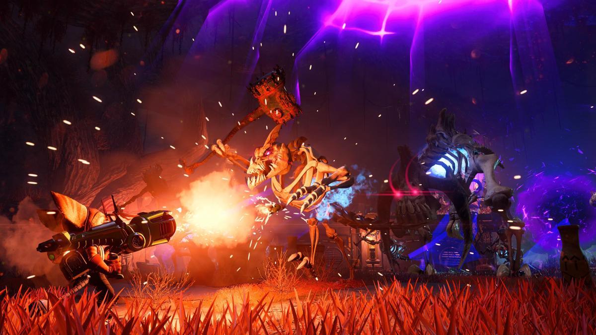 Ratchet & Clank Rift Apart выходит 11 июняна PS5 /скриншот