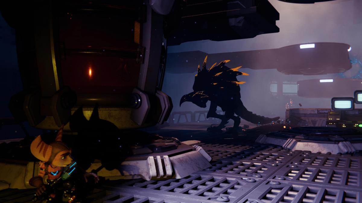 Монстр в темноте / скриншот