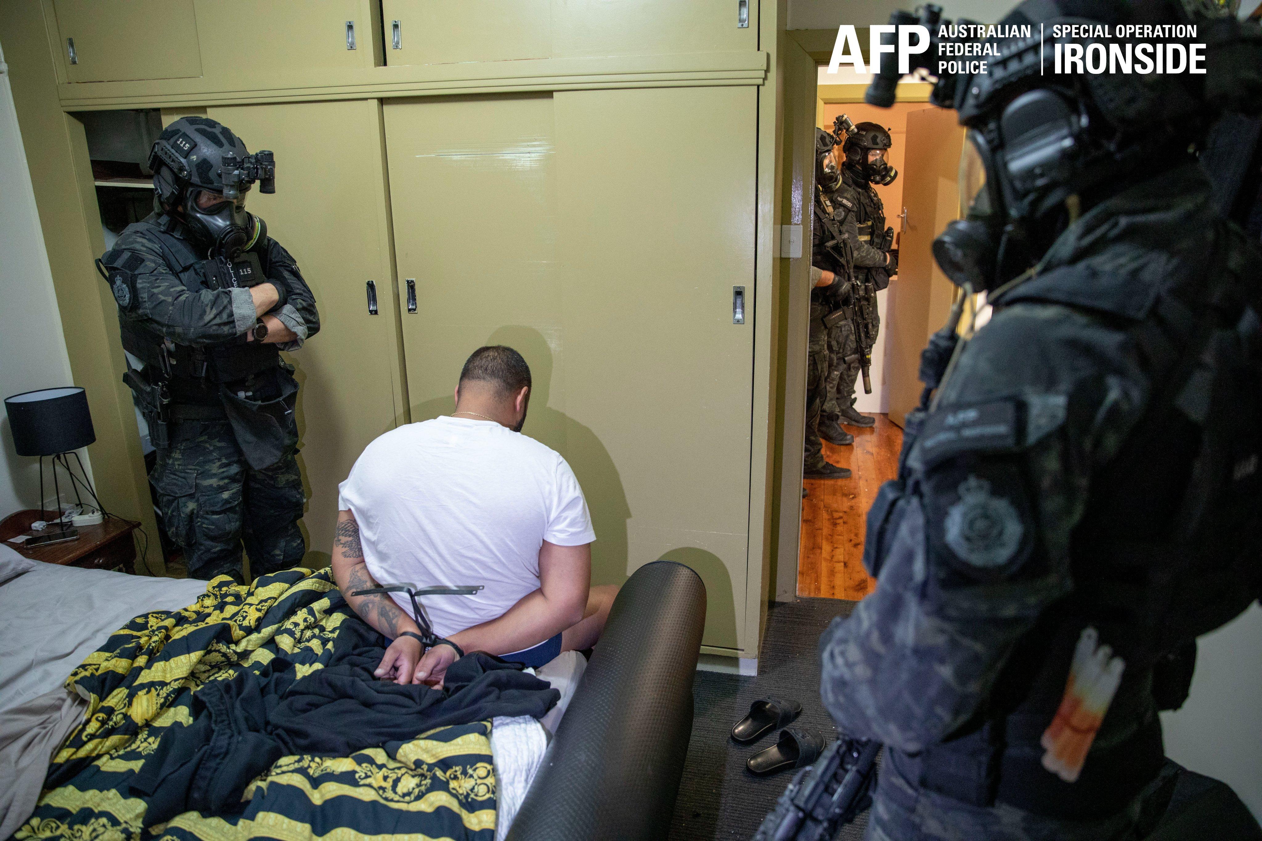 В Австралии были задержаны 224 человека / фото twitter.com/ausfedpolice