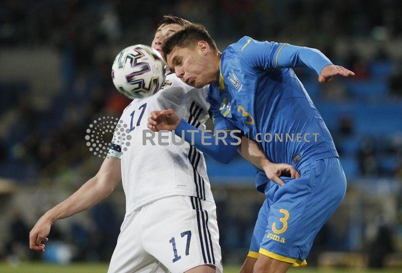 Георгий Судаков в матче против Северной Ирландии / фото REUTERS