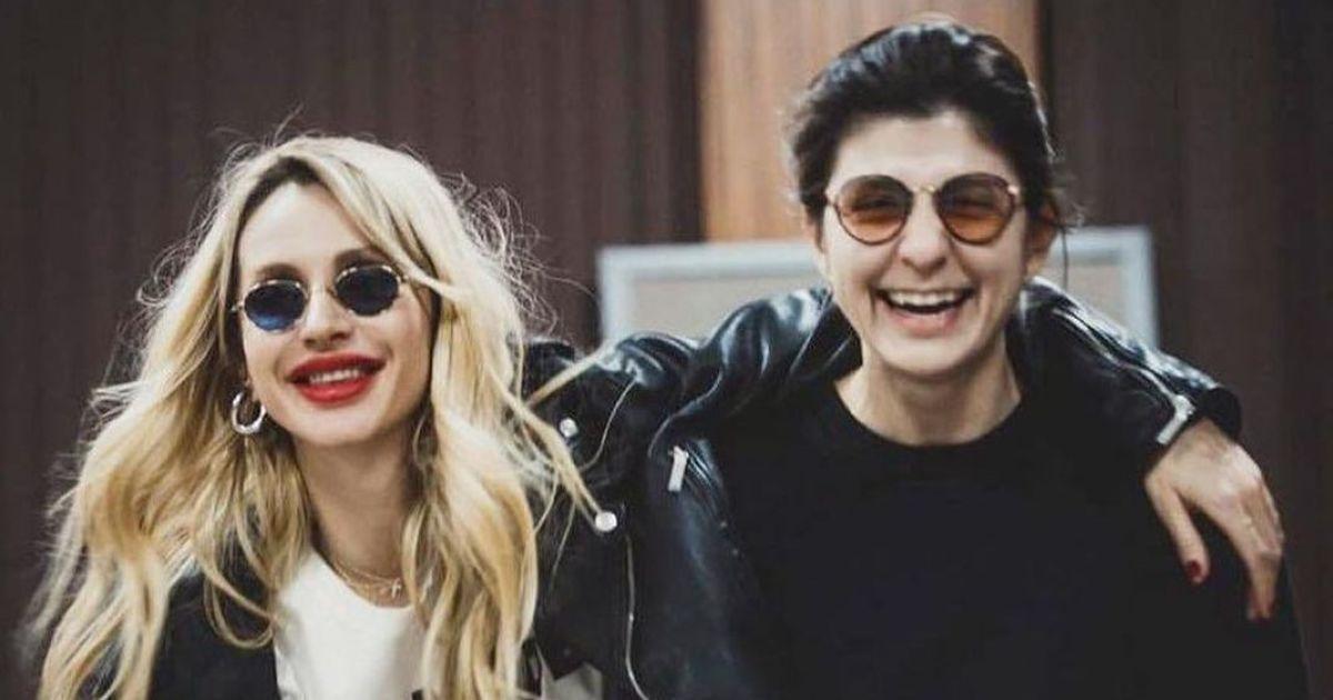 Світлана Лобода і Нателла Крапівіна / фото instagram.com/lobodaofficial