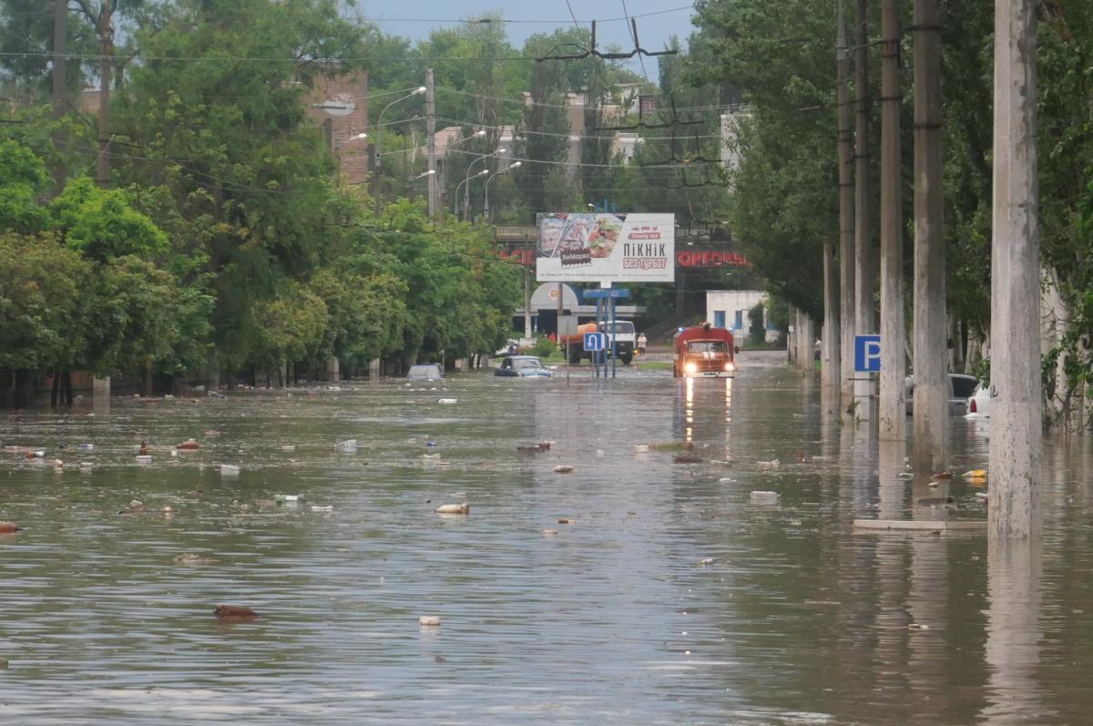 Мариуполь затопило / фото ГСЧС