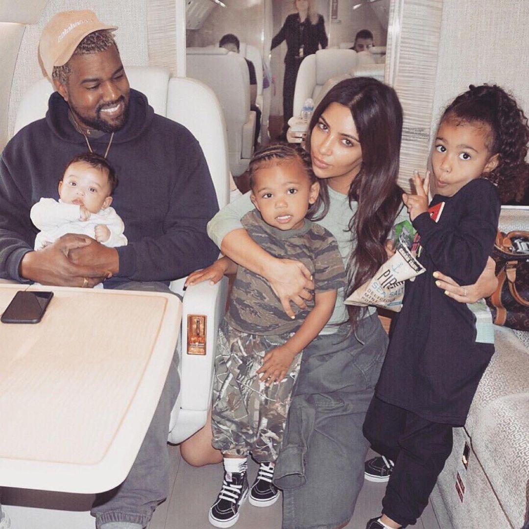Кім привітала Каньє з днем народження / instagram.com/kimkardashian