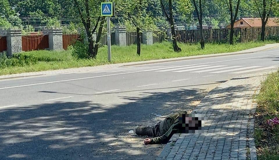 Военный погиб на месте ДТП / фото LMN