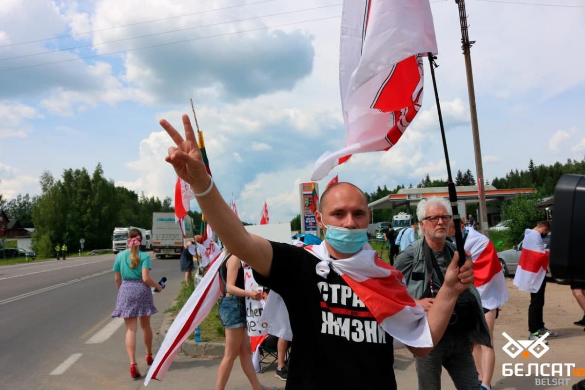 Протесты в Беларуси вспыхнули летом 2020 года / Белсат