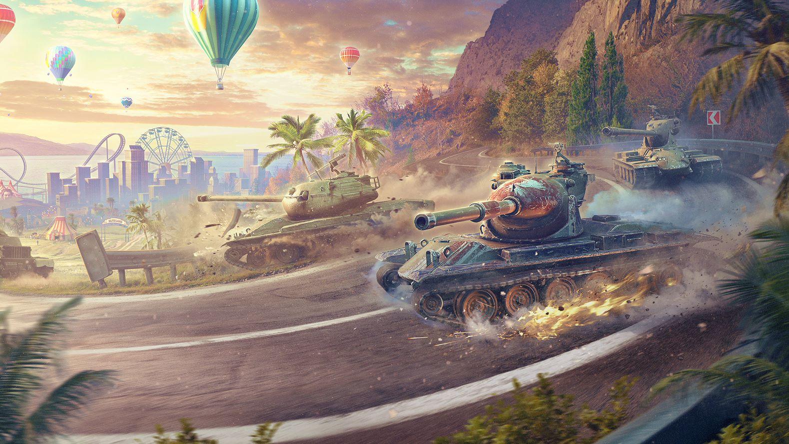 World of Tanks Blitz виповнюється 7 років / фото wargaming.net