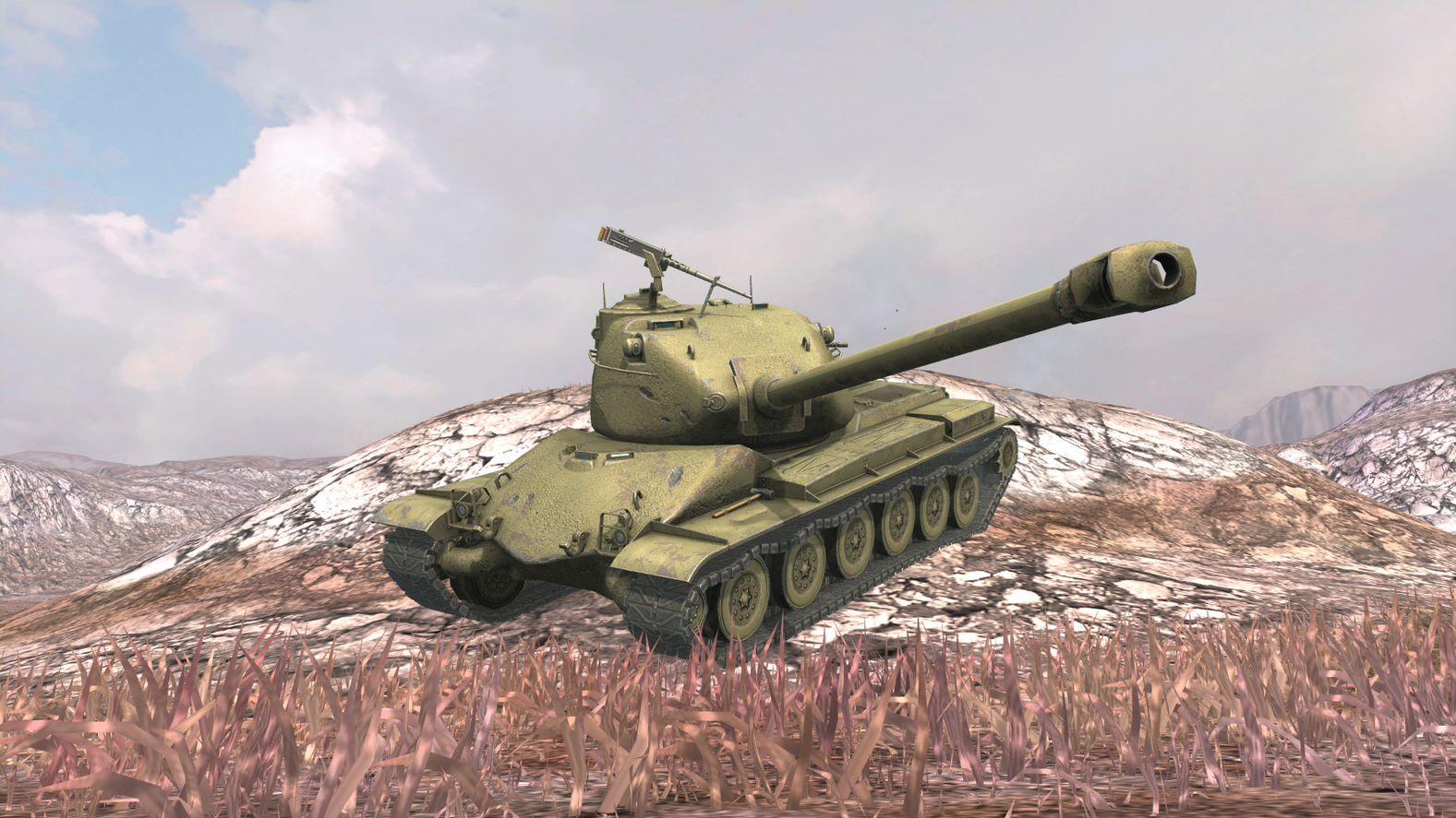 Один з нових американських танків в грі / фото wargaming.net