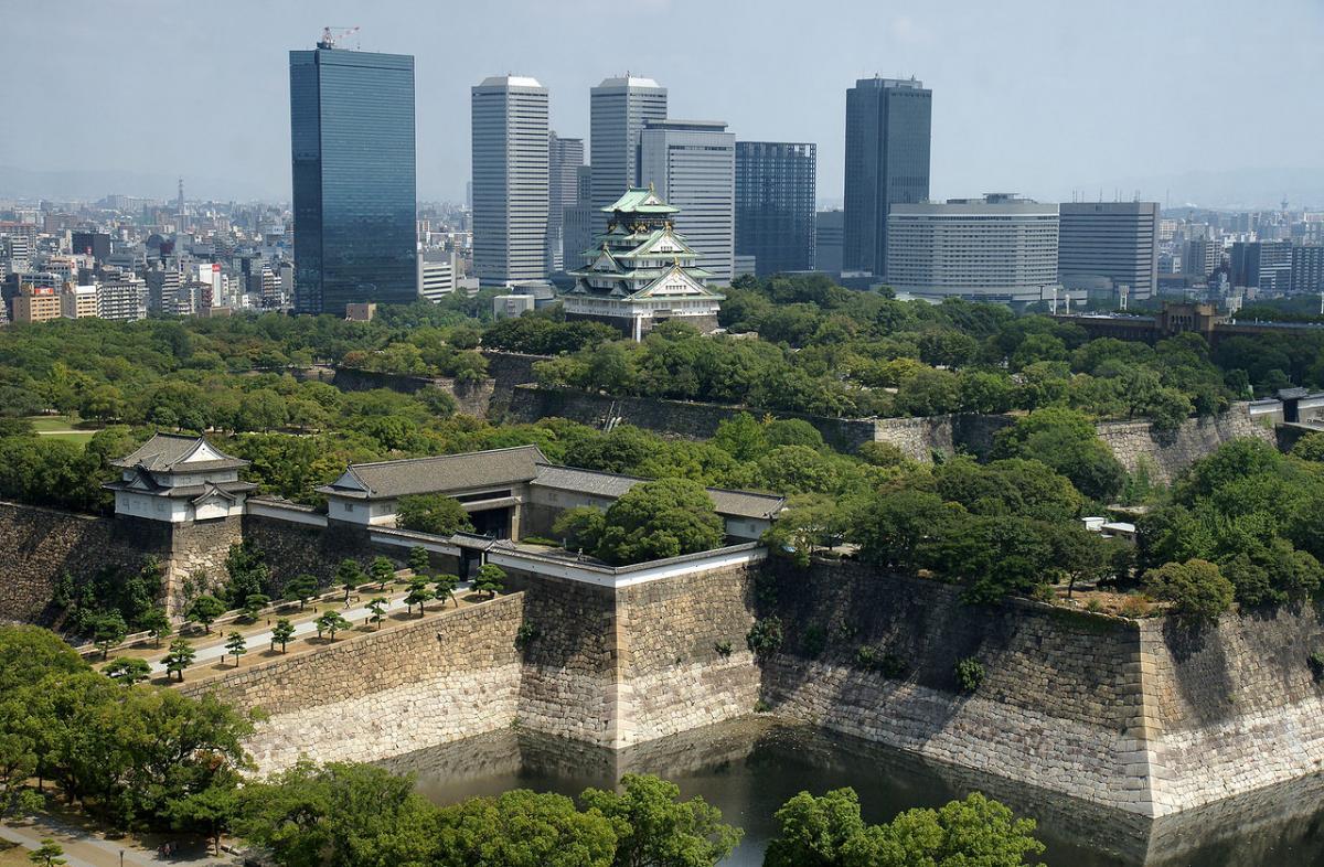 На втором месте в рейтинге оказалась Осака \ фото Википедия