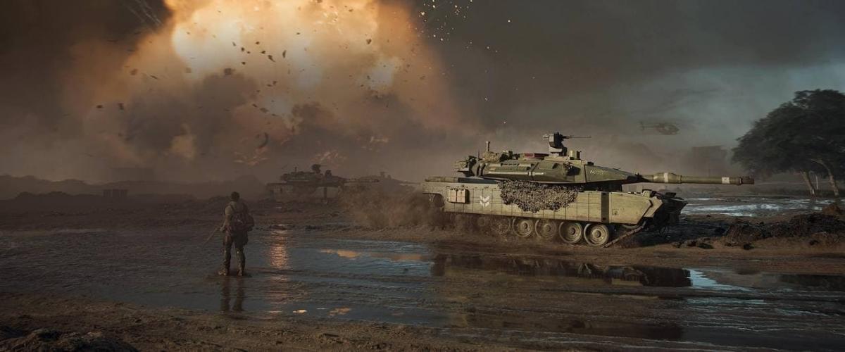 Кадр из Battlefield 2042 / скриншот