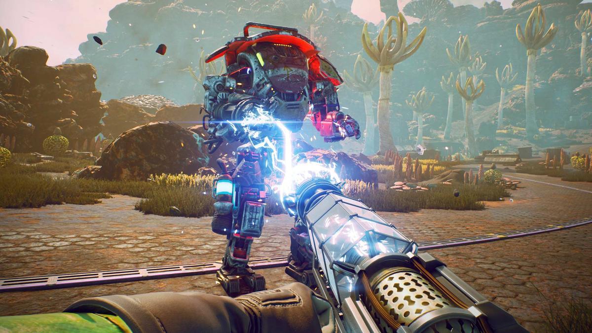 Первая The Outer Worlds была крепкой экшен-RPG / скриншот