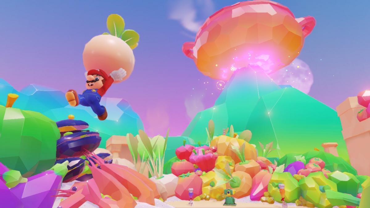 Super Mario Odyssey считается одним из лучших эксклюзивов Nintendo Switch / скриншот