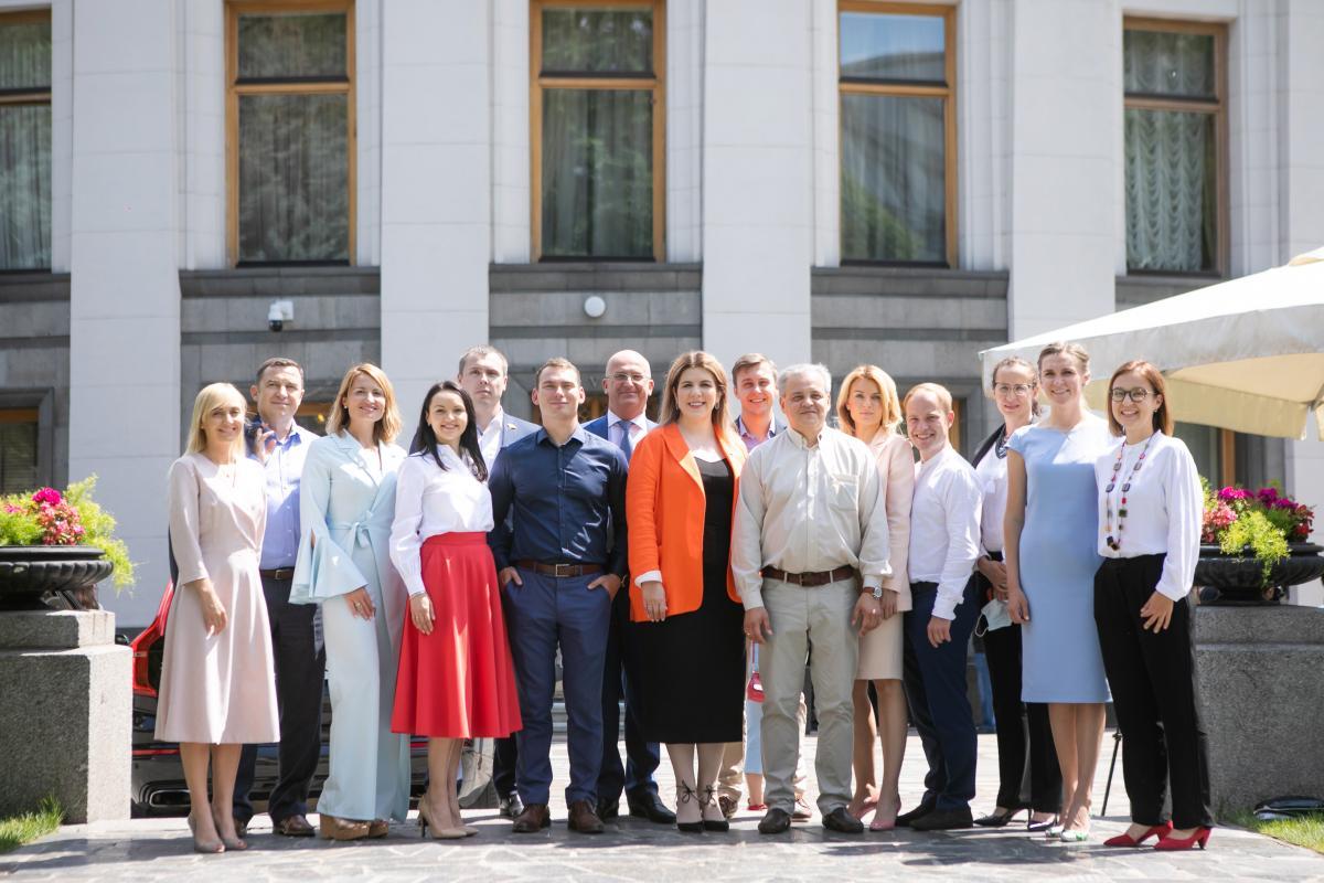 """По словам Рудык, у них с коллегами по фракции нет """"ценностных противоречий"""" / goloszmin.org"""
