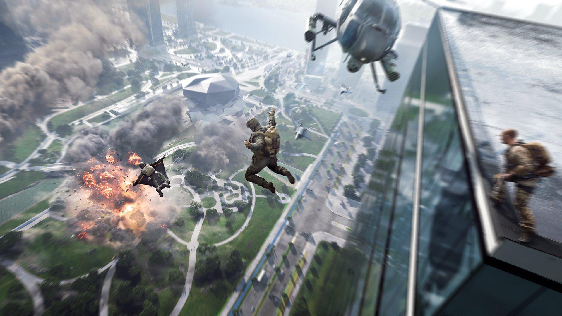 Кадр из Battlefield 2042 / фото EA