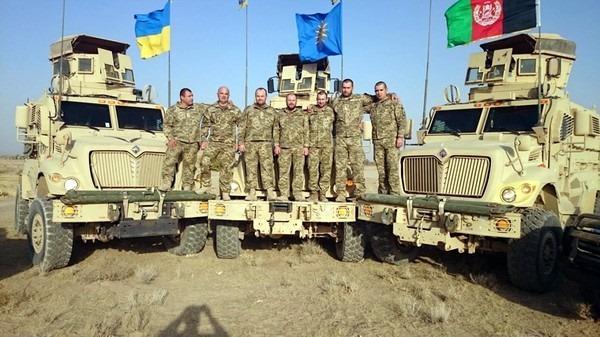 В рамках миссии НАТО в Афганистане находился 21 украинский военный \ фото Генштаб ВСУ