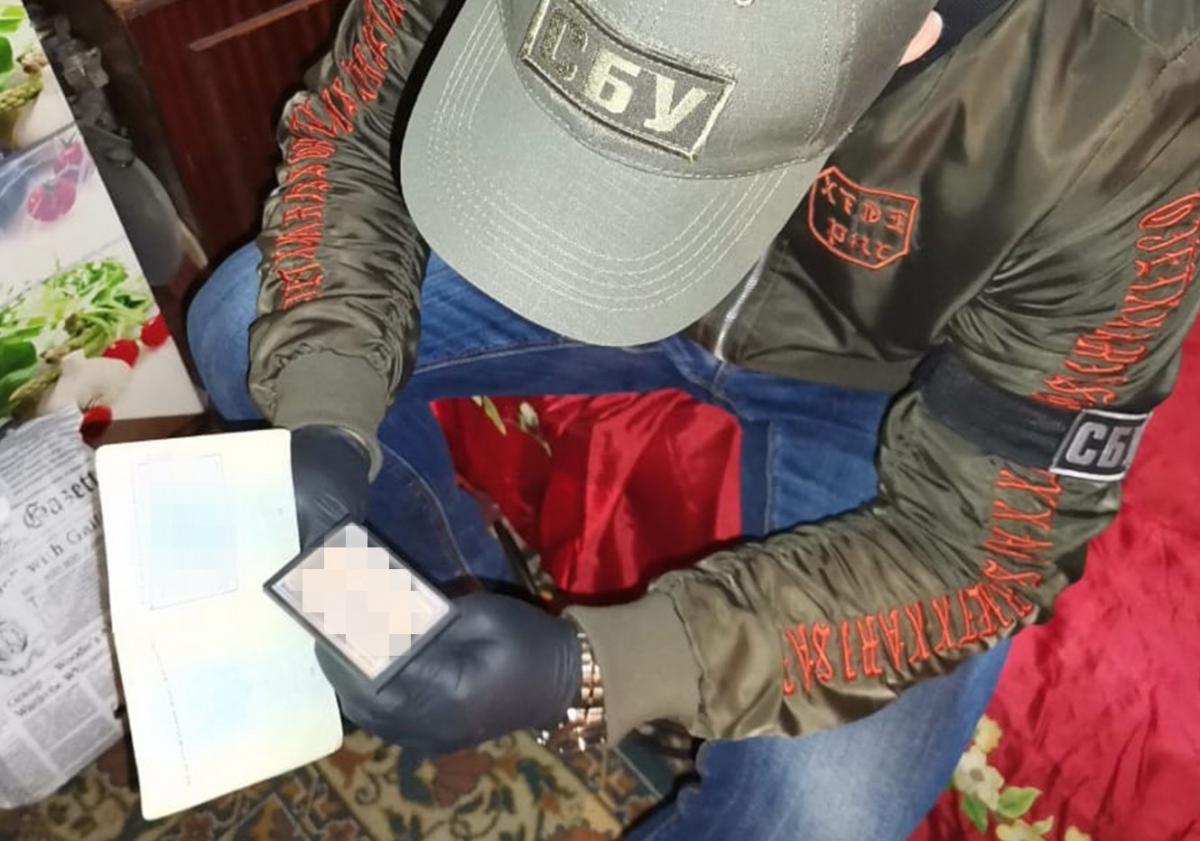 В Україні бойовикам оформляли паспорта / фото ssu.gov.ua