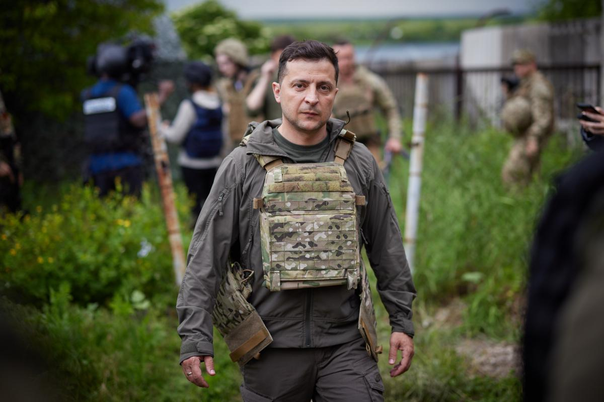 """Зеленський сказав, що думає про """"стіну"""" з ОРДЛО / president.gov.ua"""