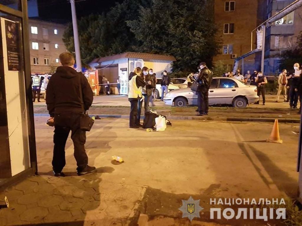 Місце вибуху в Харкові / фото: Нацполіція