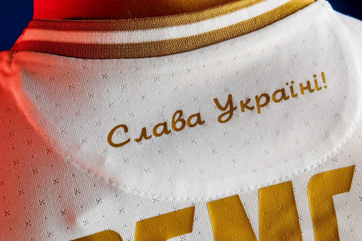 Нова форма збірної України з футболу / фото facebook.com/andriy.pavelko