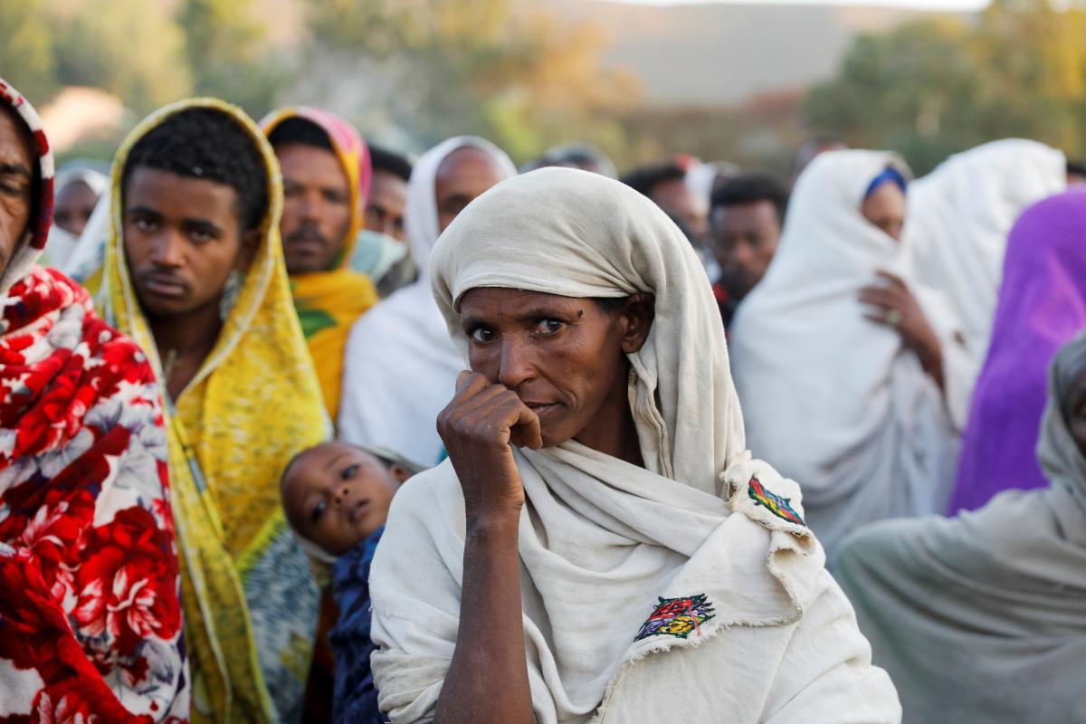 Официального объявления о голоде пока что не было/ фото REUTERS