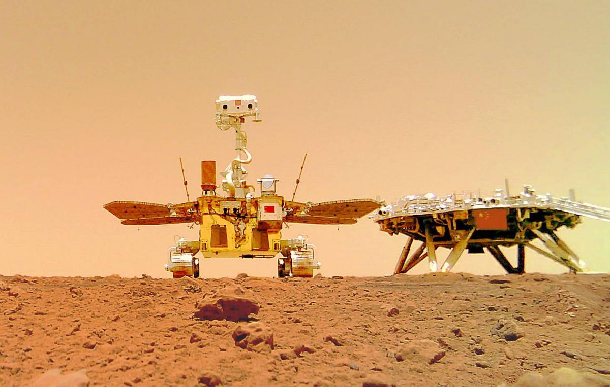 Марсохід надіслав нові фото з Марса / фото китайського національного космічного управління