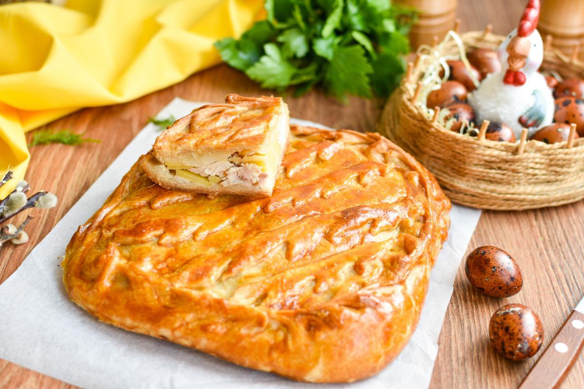 Мясной пирог с картошкой - рецепт / фото ua.depositphotos.com