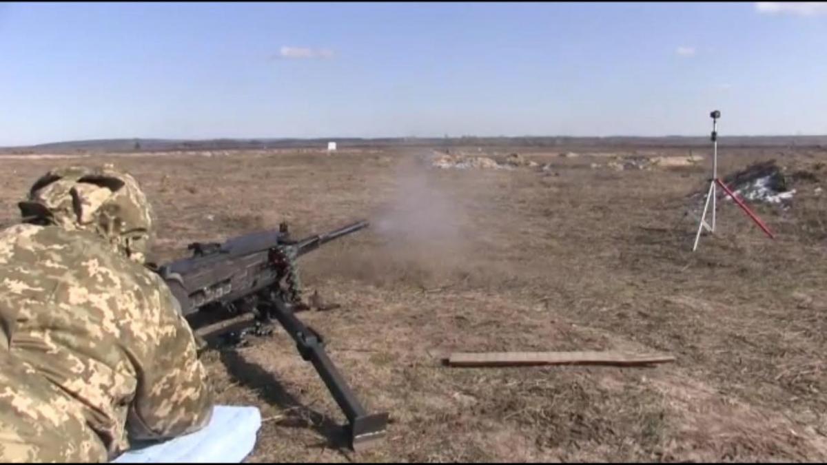 Успішні випробування дозволять забезпечити потребу в кулеметах калібру 12,7 x 108 мм \ mil.gov.ua