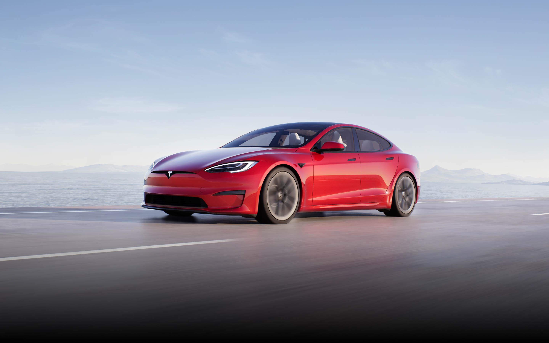 Tesla Model S Plaid установил новый рекорд скорости / фото tesla.com