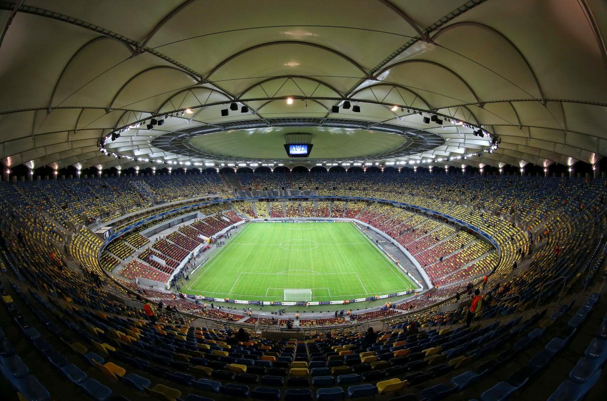 Национальный стадион в Бухаресте / фото REUTERS