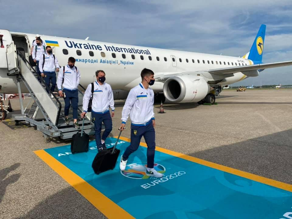 Футболисты сборной Украины / фото facebook.com/alex.glyvynskyy