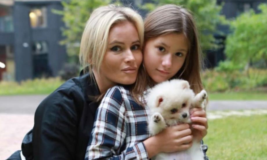 Дана Борисова з донькою Поліною / фото instagram.com/danaborisova