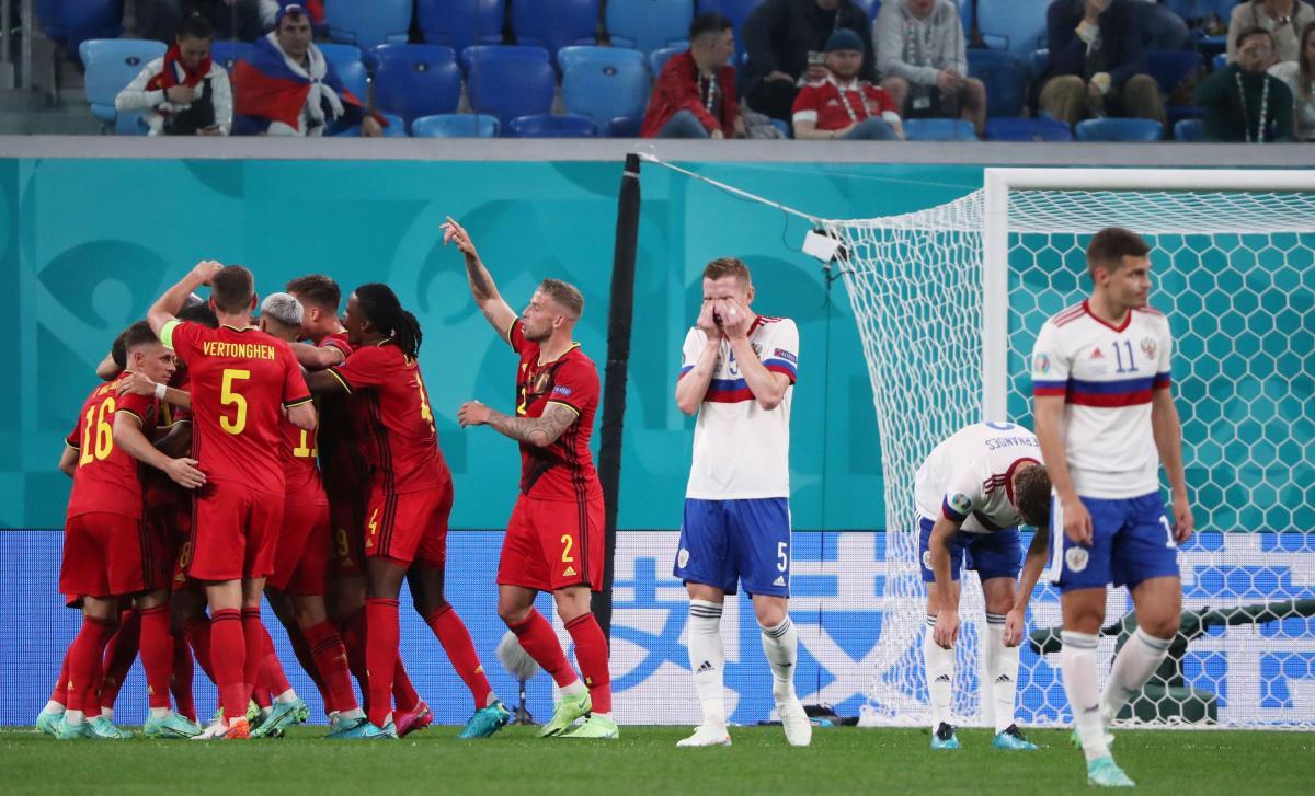 Бельгия - Россия / фото REUTERS