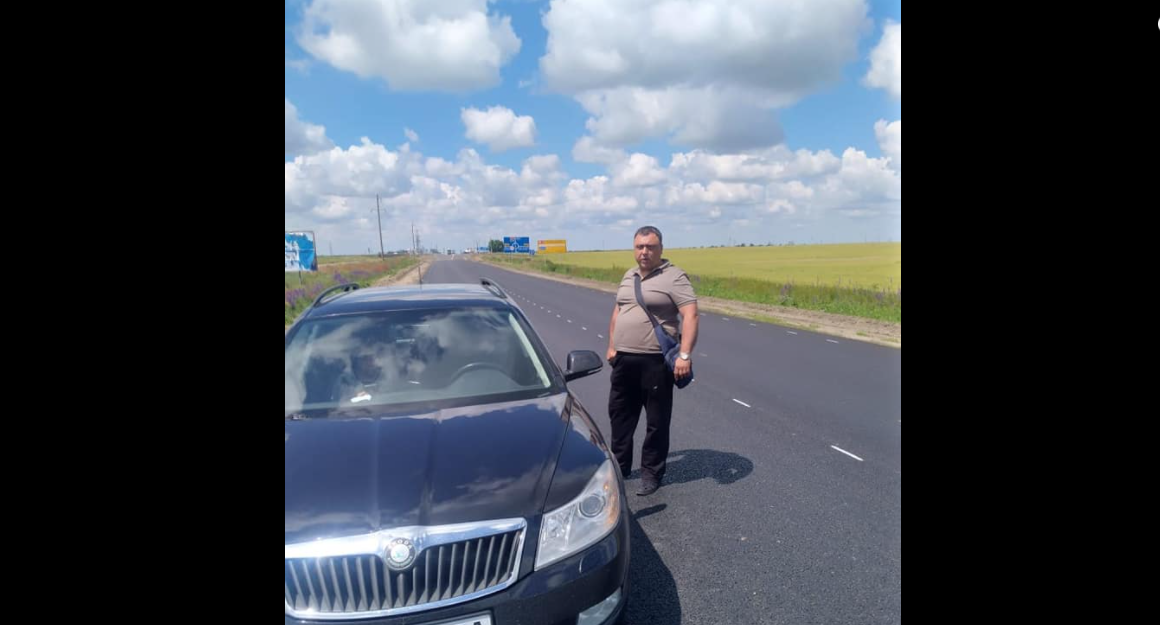 Под Херсоном произошла стрельба на дороге / Facebook