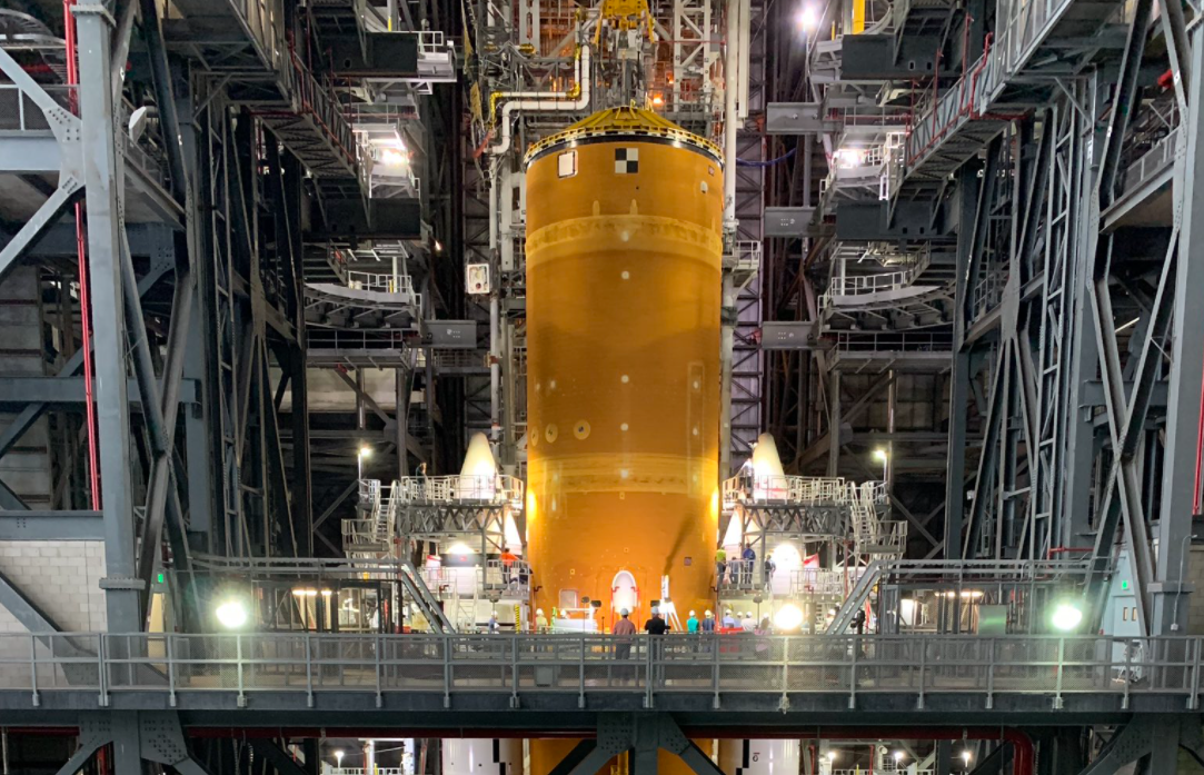 Американці будують нову ракету для польоту на Місяць / Twitter