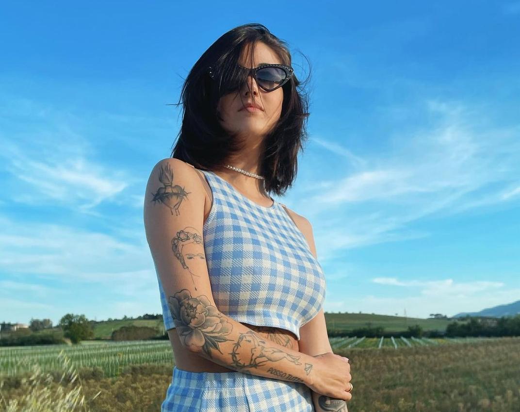 Девушка позировала в белье / instagram.com/giorgiasoleri_