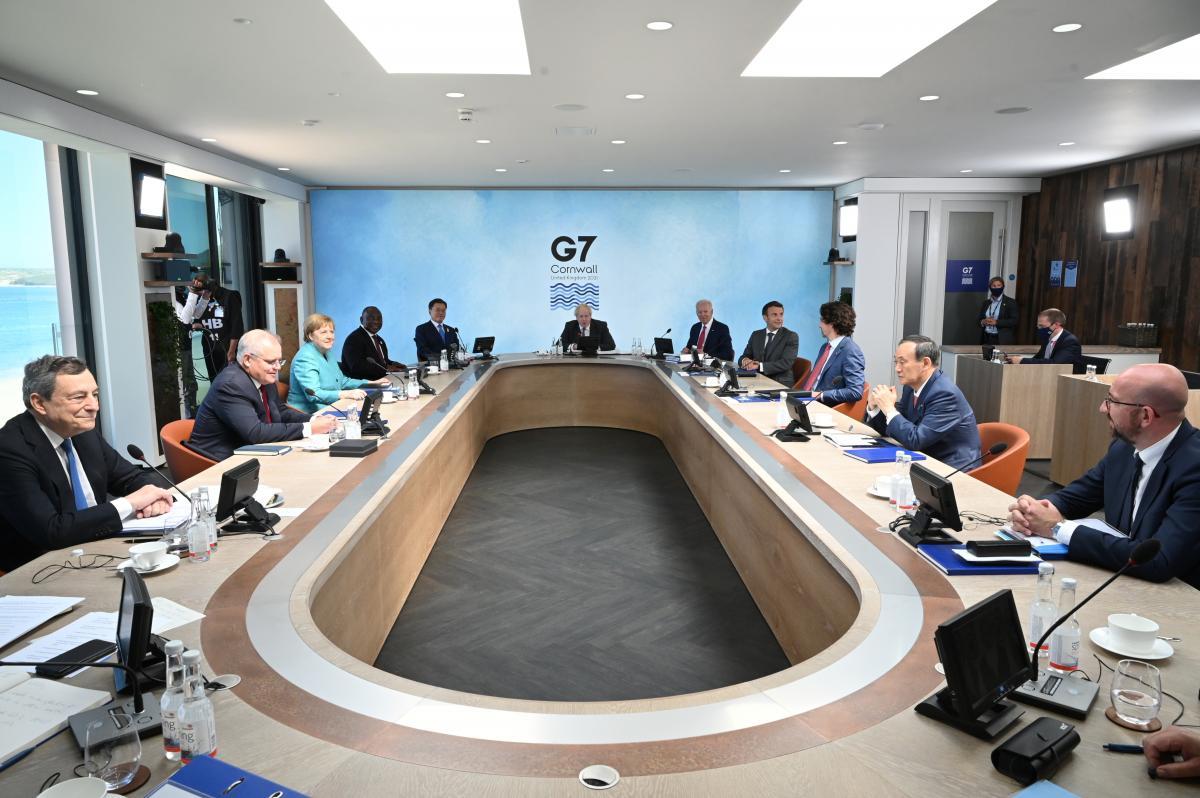 Лидеры G7 встретились на британском курорте Карбис-Бей в Корнуолле / фото REUTERS