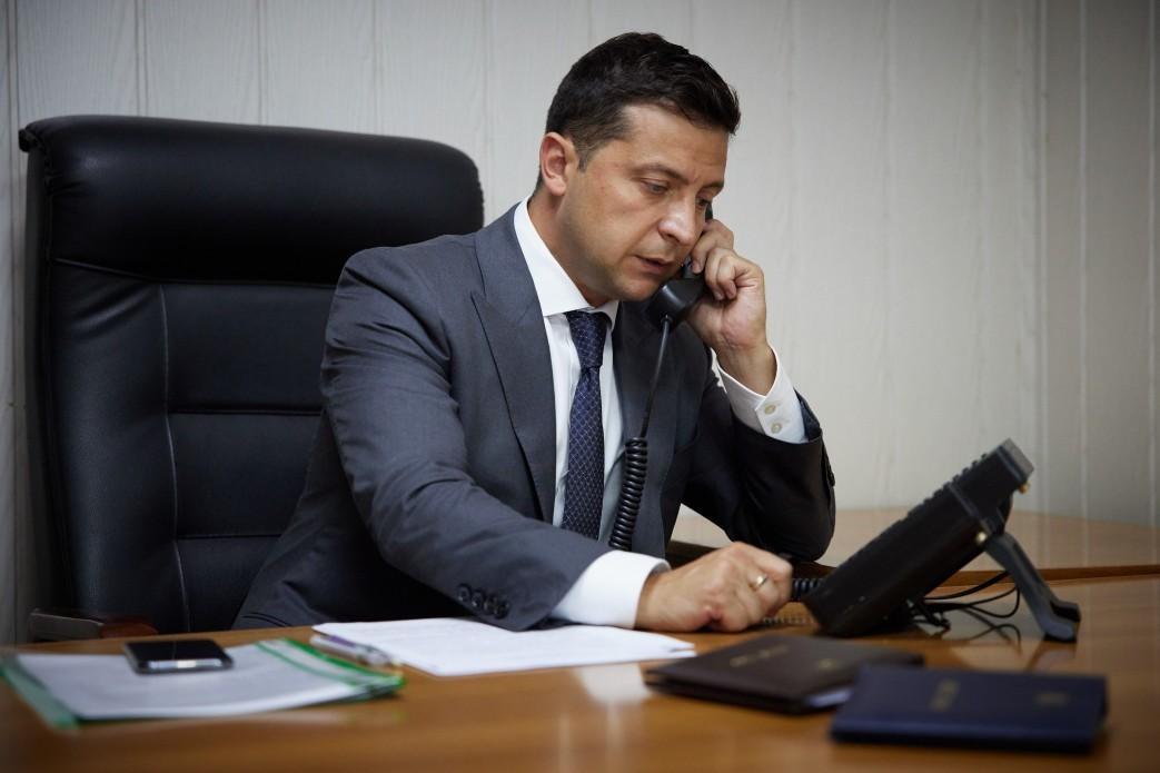 Владимир Зеленский поговорил по телефону с председателем Венецианской комиссии / фото Офис президента Украины