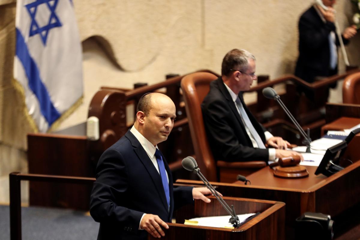 Новим прем'єр-міністром став Нафталі Беннет / фото REUTERS