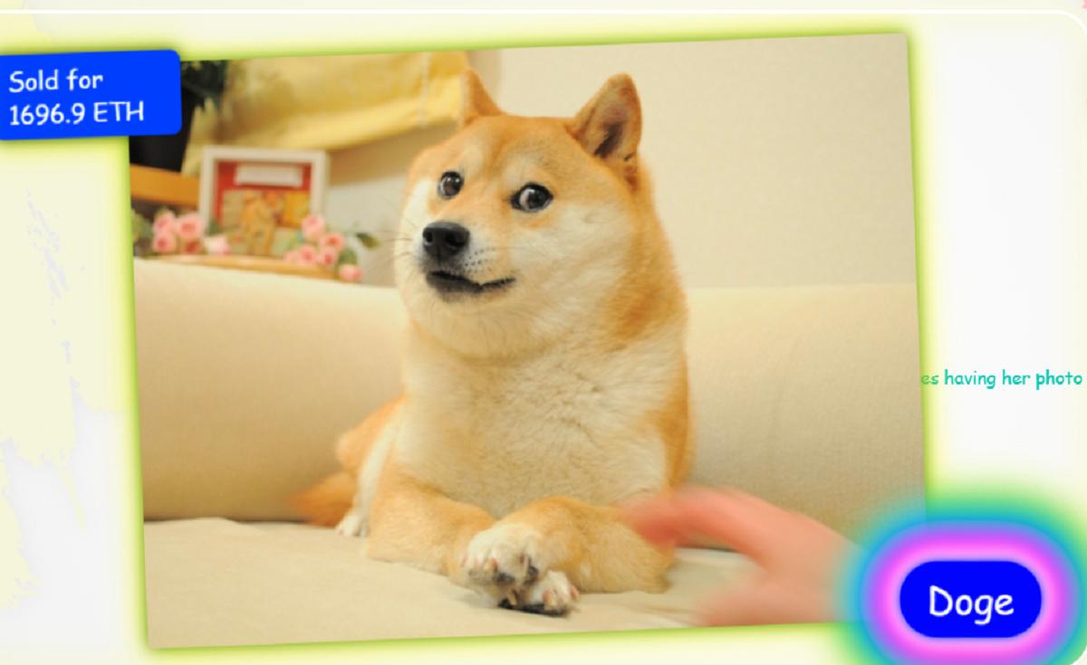 Изображение сиба-ину Doge продали более чем за 4 млн долларов / скриншот, very.auction