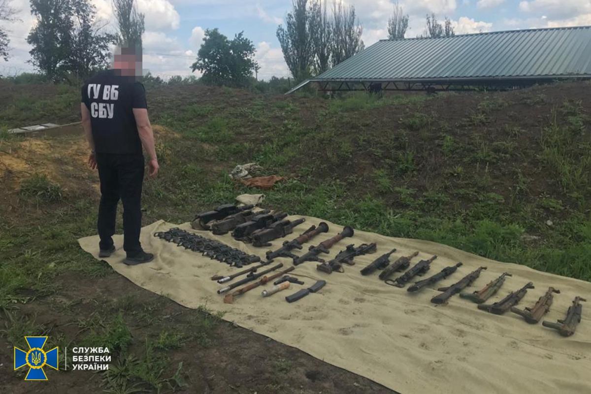 В Украине разоблачили торговцев оружием / СБУ