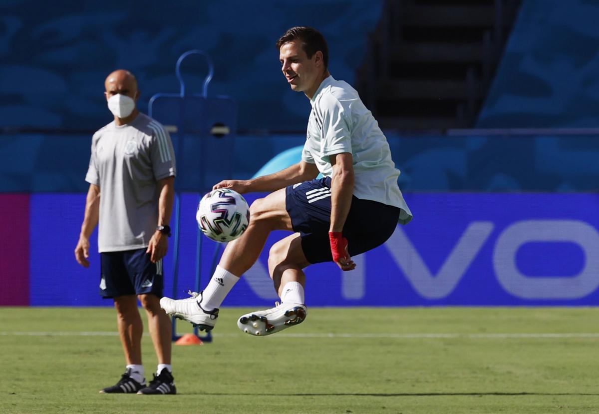 Захисник збірної Іспанії Сесар Аспілікуета / фото REUTERS