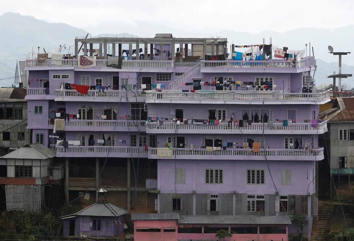 Дом семьи Зиона Чана/ фото REUTERS