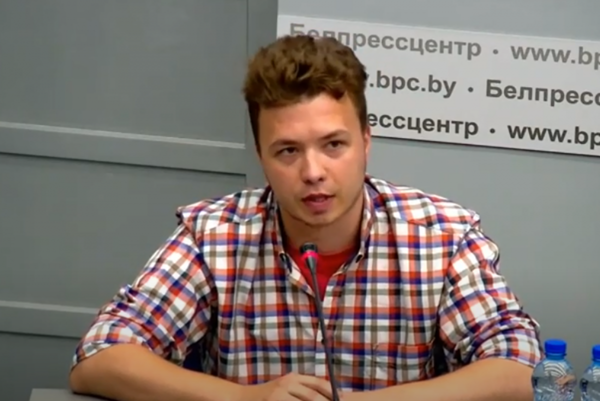 Роман Протасевич / скріншот