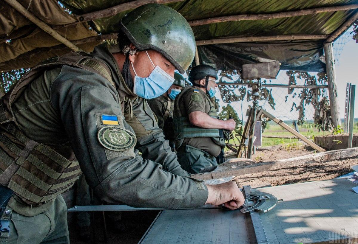 Бойовики вчергове обстріляли позиції ЗСУ / фото УНІАН