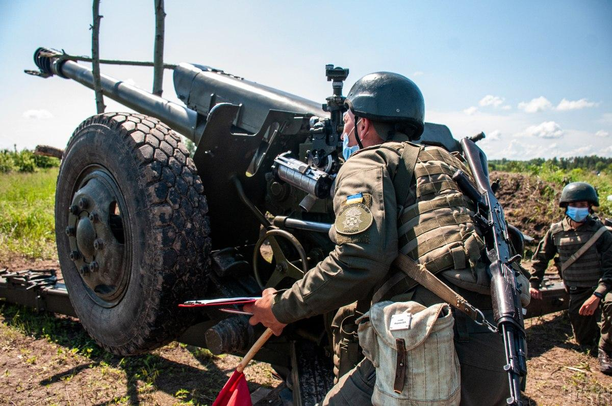The OOS headquarters reported on the situation in Donbass / UNIAN photo