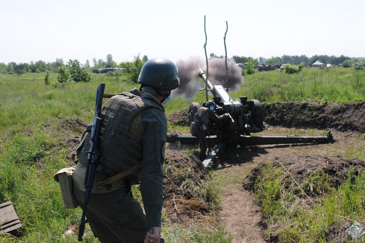 ООС продолжают нести потери на фронте/ фото УНИАН