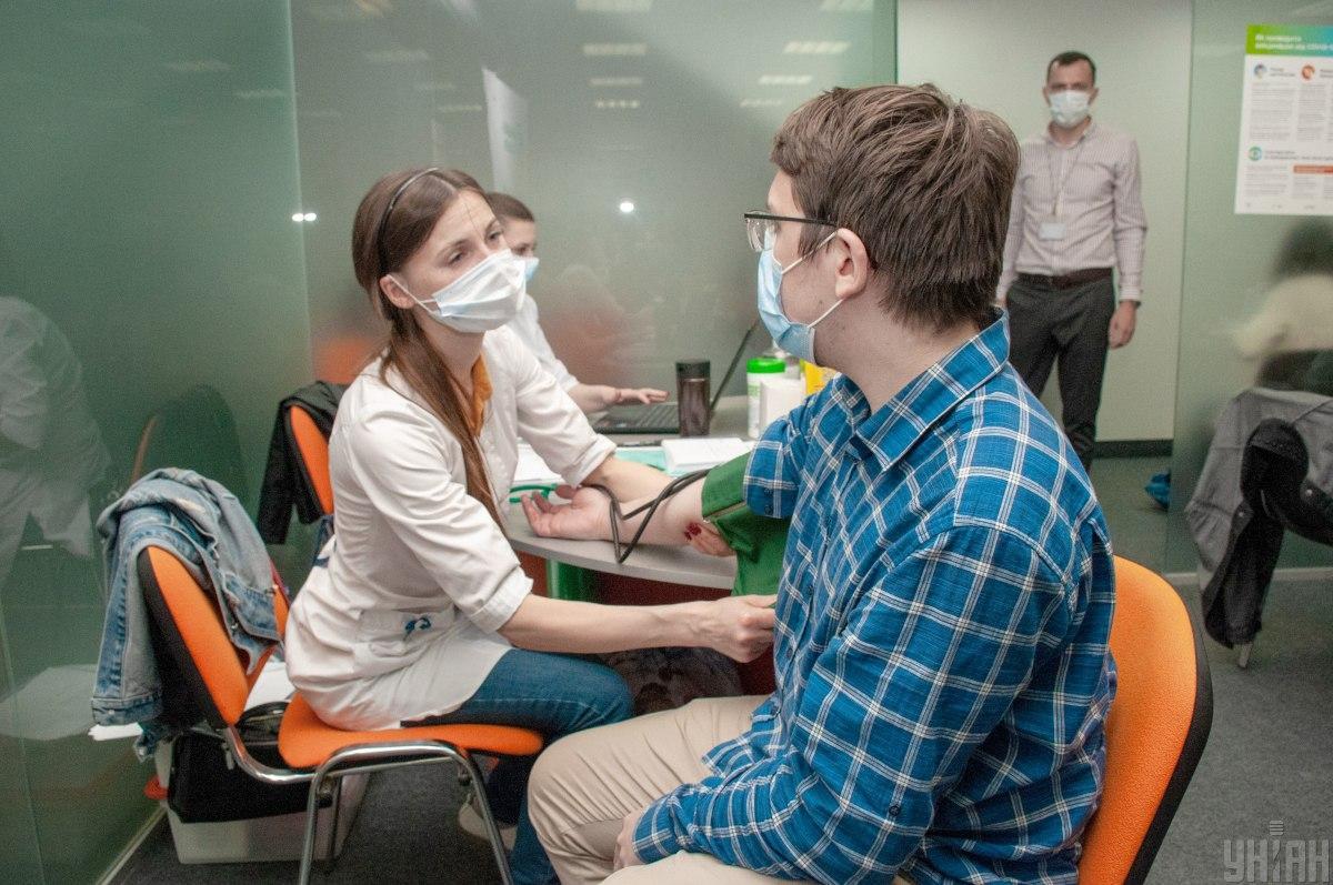 В Украине стартует вакцинация коллективов / фото УНИАН