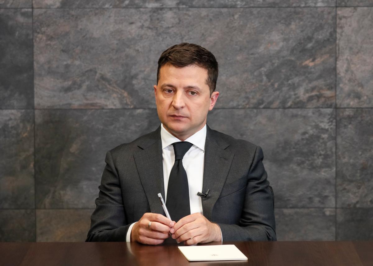 Volodymyr Zelenskyi spoke about the Minsk agreements / photo by REUTERS