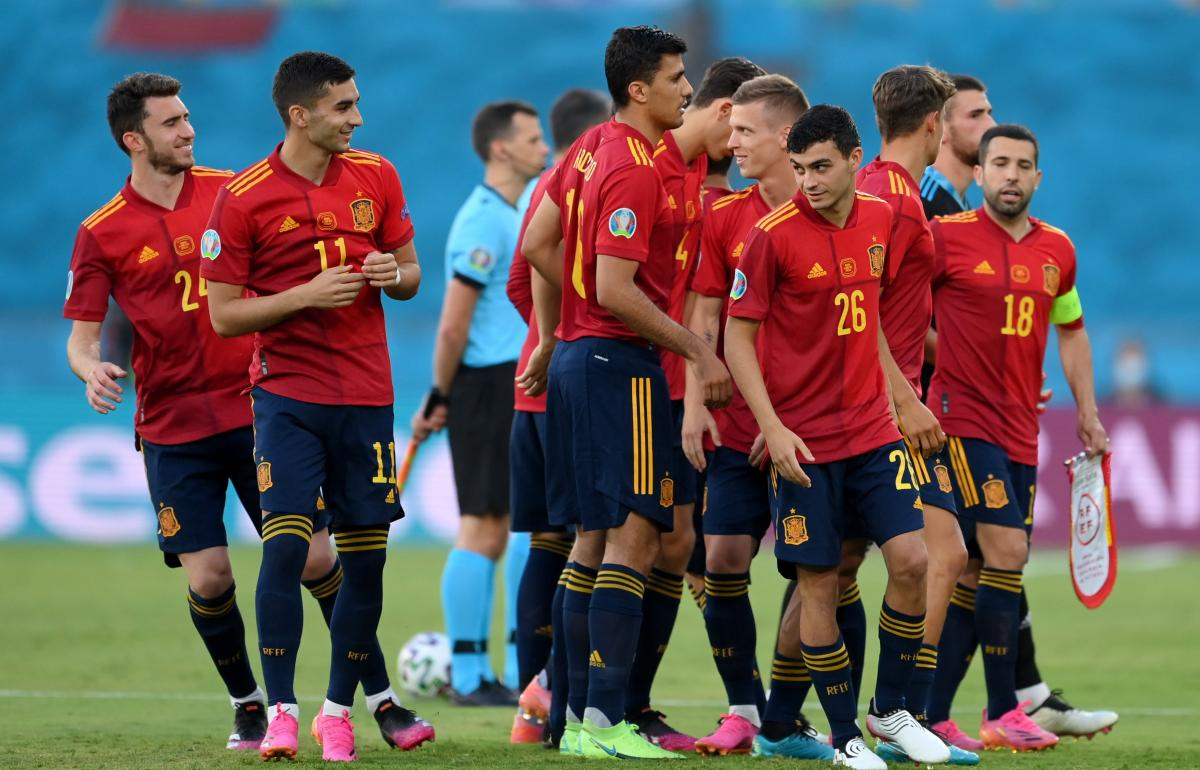 Футболисты сборной Испании / фото REUTERS