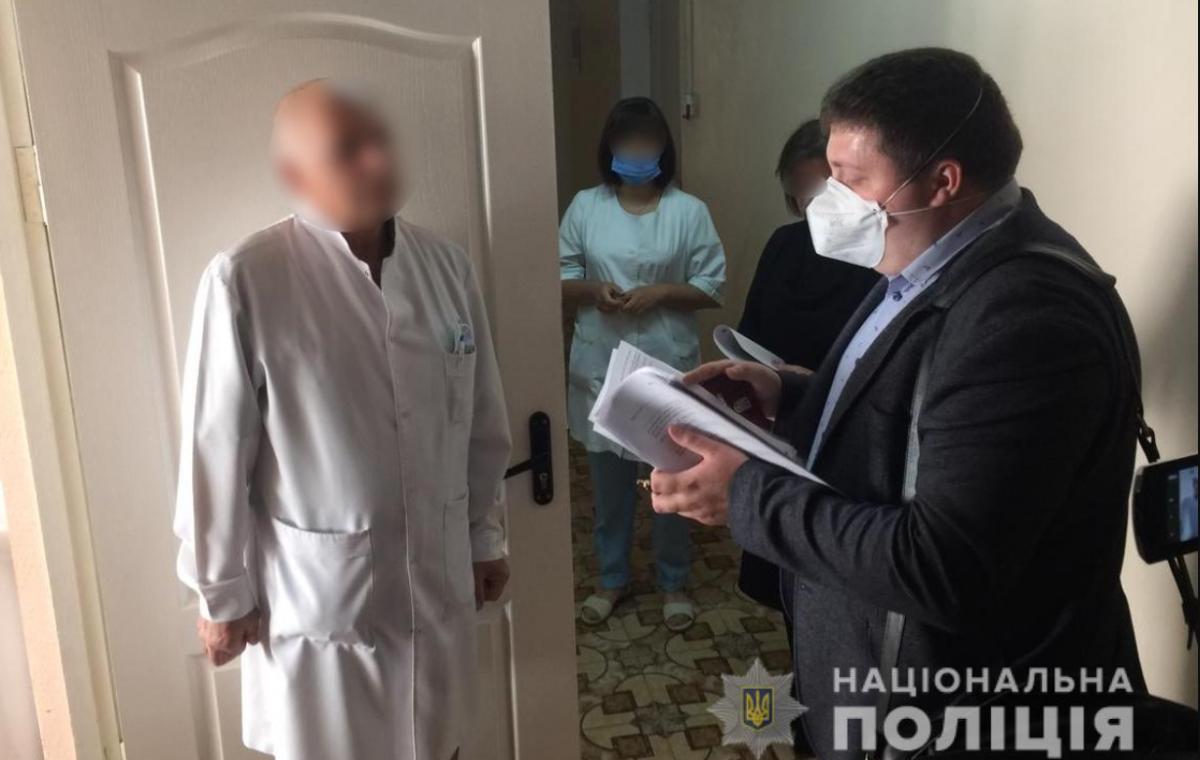 На Киевщине разоблачили должностных лиц, торговавших деравной вакциной / Нацполиция