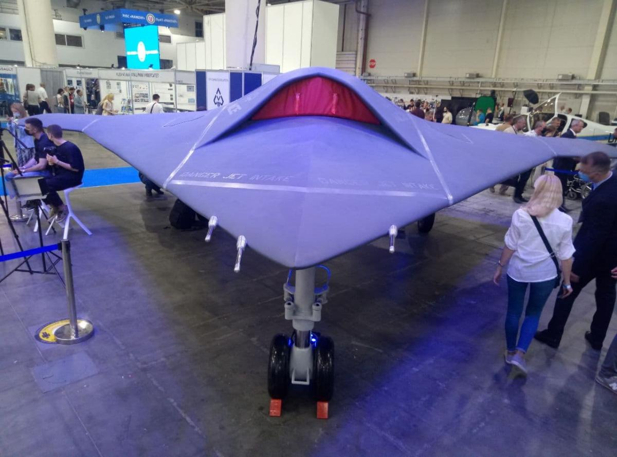 High-speed military unmanned aerial vehicle ACE ONE / photo UNIAN, Dmitry Schwartz